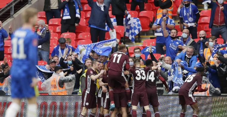 Leicester City wint eerste FA Cup ooit na wereldgoal van Tielemans