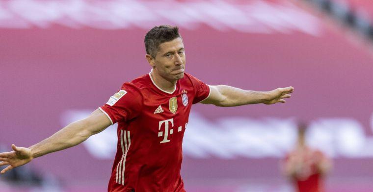 Lewandowski in rijtje met Müller en Makaay: 'Volgorde laat ik aan anderen over'