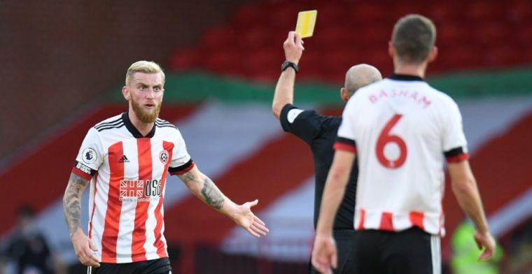 Sheffield United-spits McBurnie valt Leeds-fan aan na grapje over degradatie