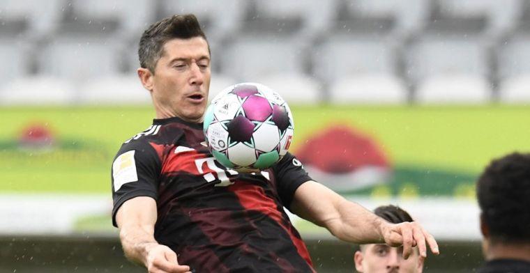 Lewandowski evenaart Müller-record, Huntelaar zorgt voor verrassing met Schalke