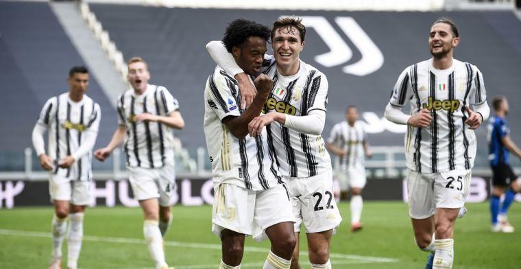 Juventus leeft nog na spectaculaire topper tegen Internazionale