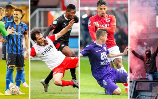 Afbeelding: Ajax blijft op 3 gemiddeld, PSV houdt AZ af, Feyenoord schrikt alleen van vuurwerk