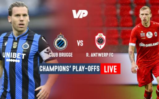 LIVE: Kan Antwerp in het slot nog gelijkmaker scoren?