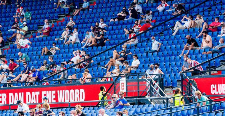 'Weer fans in De Kuip en De Galgenwaard: Songfestival kan problemen opleveren'