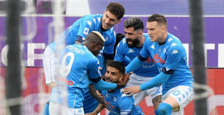 Napoli duwt Juventus weer kopje onder en staat op Champions League-drempel