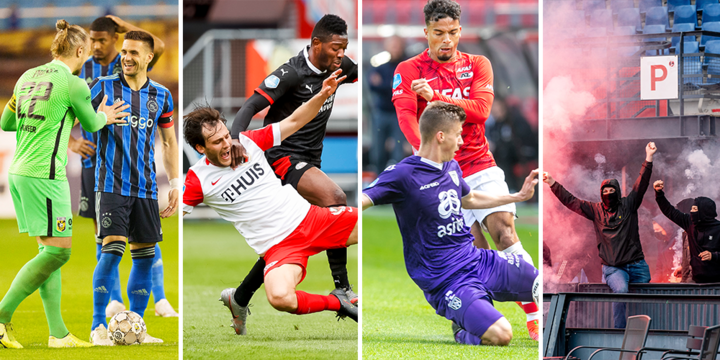 Ajax blijft op 3 gemiddeld, PSV houdt AZ af, Feyenoord schrikt alleen van vuurwerk