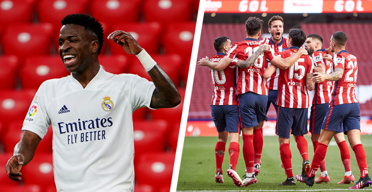 Bizarre escape Atlético Madrid: Suárez doet het in minuut 88