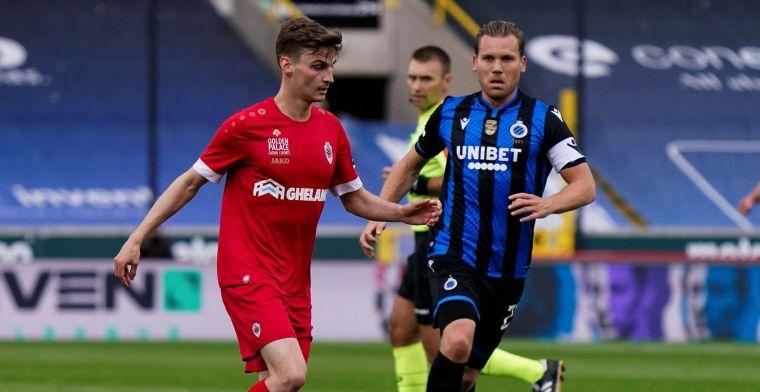 Club Brugge pakt eerste zege in Play-Offs tegen Antwerp en zet stap richting titel