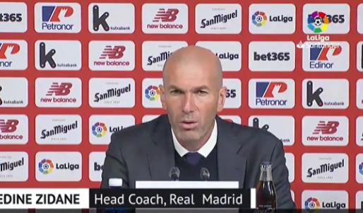 Boze Zidane baalt van berichtgeving Spaanse media: 'Dat is een leugen'