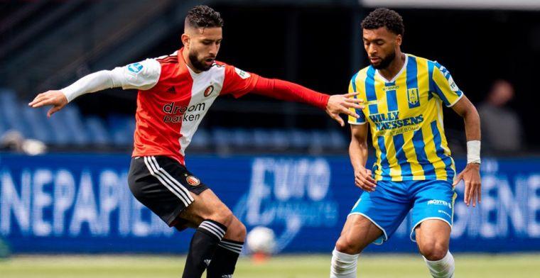 Basisdebutant Feyenoord stapte zelf op Advocaat af: 'Hij zei: verkloot het niet'