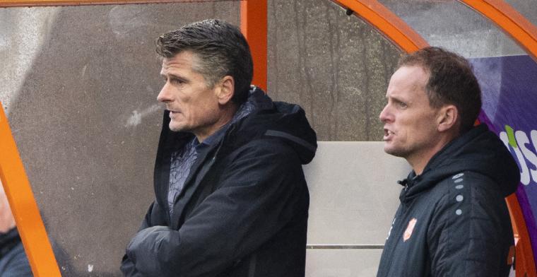 Feyenoord schakelt door: Jonk-rechterhand Hulshoff in beeld in De Kuip