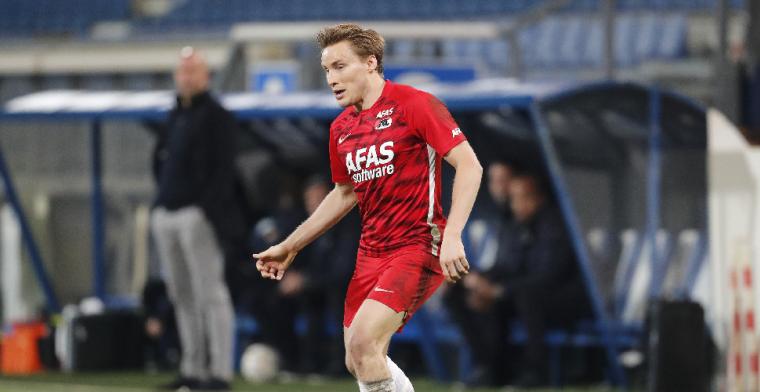 Svensson weerlegt Feyenoord-geruchten: 'Heb dat gelezen, maar het klopt niet'