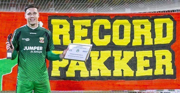 'Ajax moet tonnen betalen om recordkeeper Gorter over te kunnen nemen'