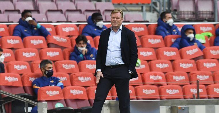 'Laporta velt begin volgende week oordeel over toekomst Koeman bij Barcelona'