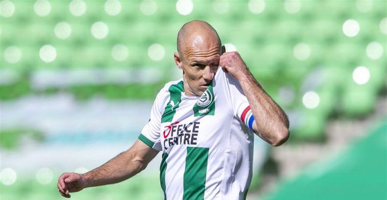 'Fitte Robben staat in de basis en moet Groningen naar Europees voetbal leiden'