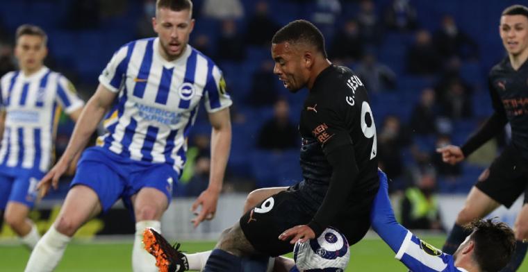 Brighton & Hove Albion boekt historische overwinning op Manchester City