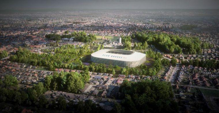 'Stad Brugge ontvangt 125 bezwaren tegen nieuw stadion Club Brugge'