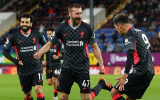 Afbeelding: Liverpool lijkt hard op weg naar CL-voetbal na overwinning op Burnley