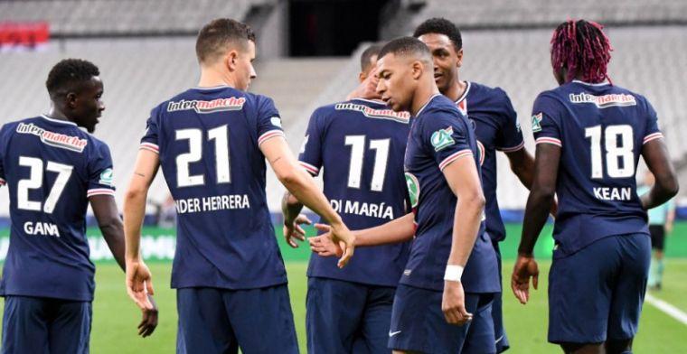 AS Monaco maakt het PSG niet moeilijk, Parijzenaars winnen Coupe de France