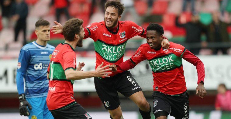 NEC kan Eredivisie ruiken na ruime overwinning op zwak voetballend Roda JC