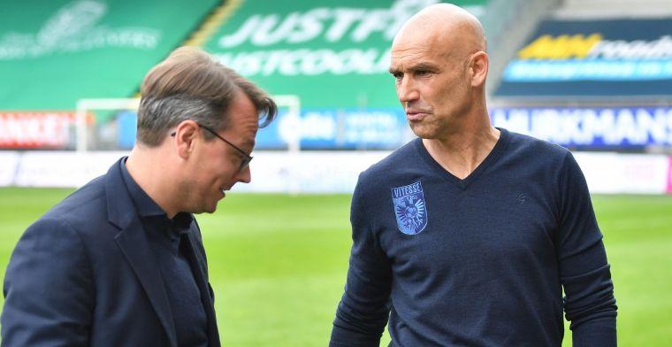 Vitesse-technisch directeur duidelijk: 'Kans is erg klein dat ze hier blijven'