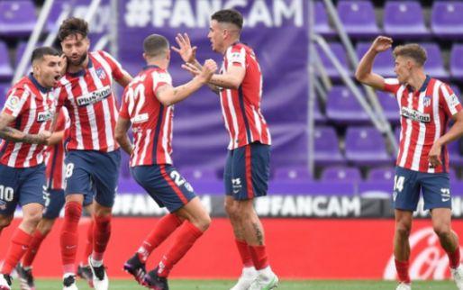 Afbeelding: Atlético Madrid pakt Primera División-titel na comeback tegen Real Valladolid