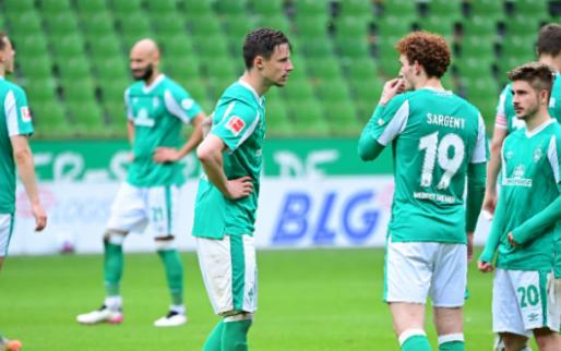 Afbeelding: Werder Bremen degradeert voor het eerst sinds 1980 uit de Bundesliga