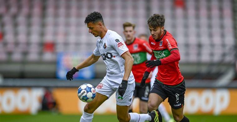 'Van Leeuwen aan het werk: NEC wil met scorende Telstar-back naar Eredivisie'
