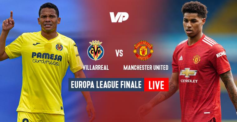 LIVE: Strafschoppen in finale tussen Villarreal en Man United