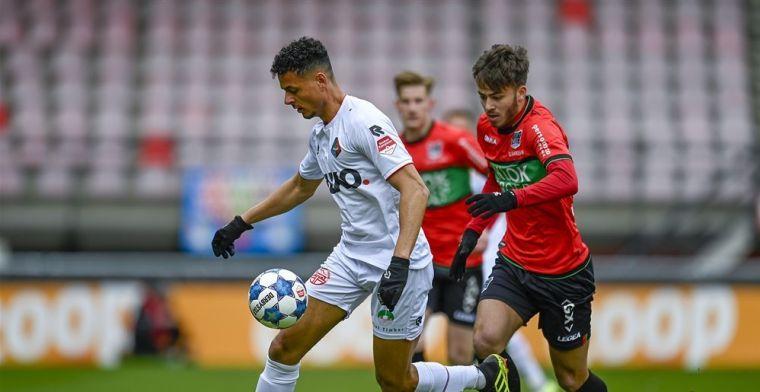 Promovendus NEC slaat voor het eerst toe en haalt veel scorende Telstar-verdediger