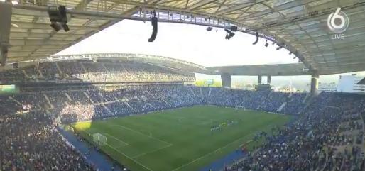 Finale met fans: City-publiek joelen en fluiten als CL-hymne wordt ingezet
