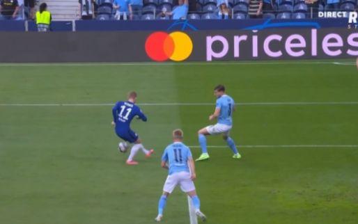 Classic: Werner (Chelsea) verprutst al na tien minuten een enorme kans