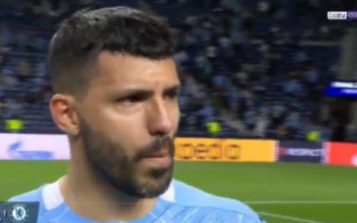 City-afscheid om snel te vergeten: Agüero in tranen na CL-verlies tegen Chelsea