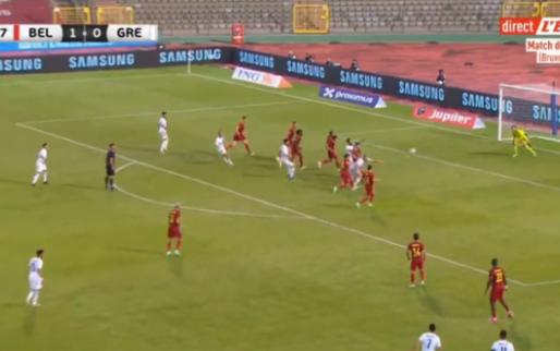 GOAL: 'Vriend van Lukaku' maakt de 1-1 voor Griekenland tegen België