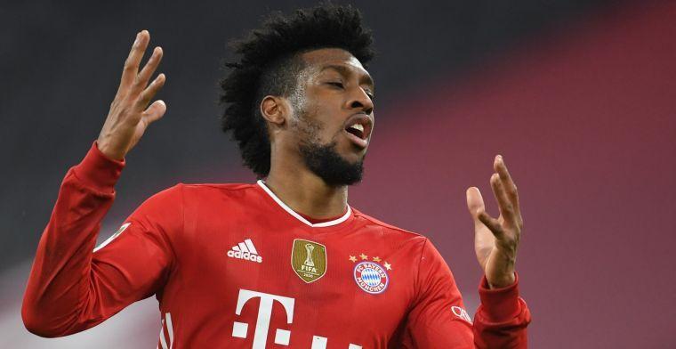 Bayern weigert Coman 'waanzinnig salaris' te geven