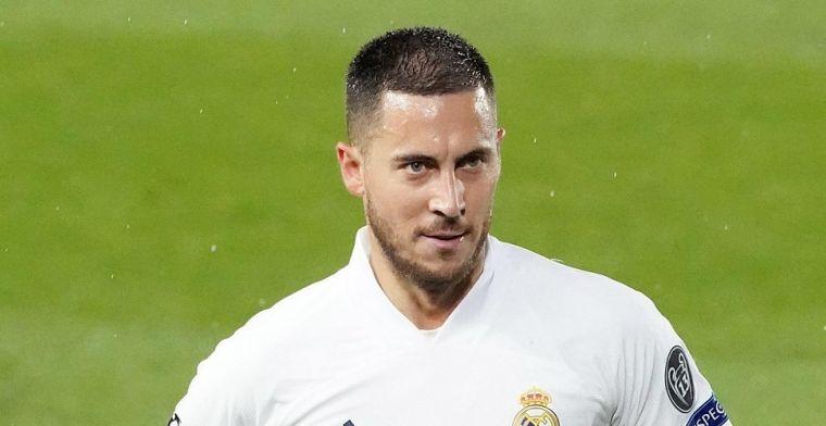 'Hij blijft 100 procent bij Real Madrid, ik zie de Hazard van Chelsea en België'