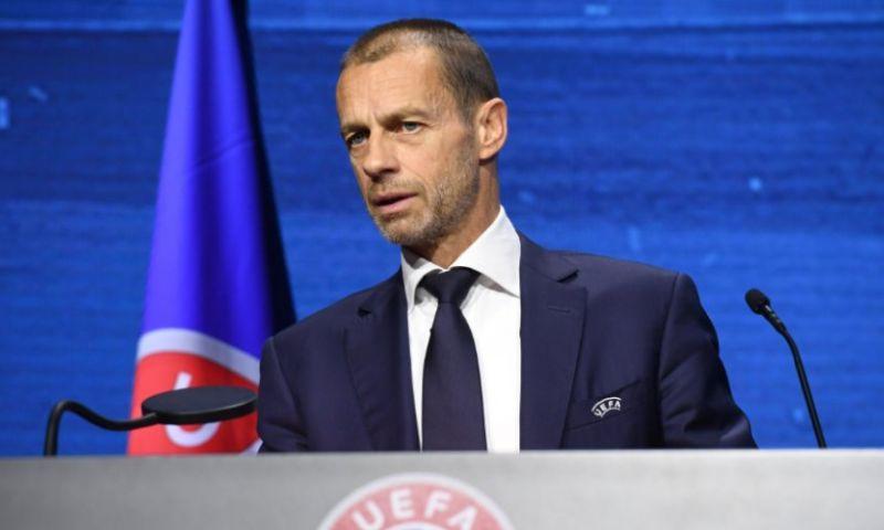 Afbeelding: UEFA-preses Ceferin haalt ongenadig hard uit: 'Hij bestaat voor mij niet meer'