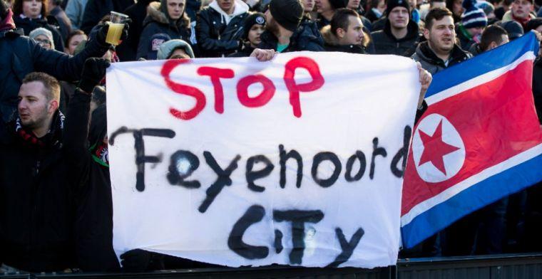 Feyenoord reageert op bedreigingen van fans: 'Belachelijk, grens voorbij'