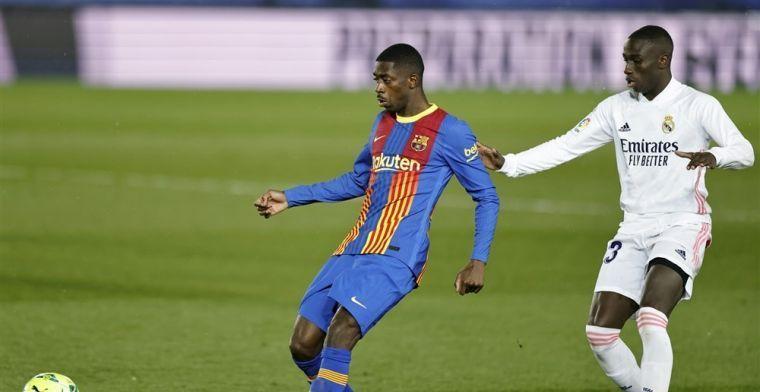 'Argwaan bij Laporta door langzaam lopende contractonderhandelingen met Dembélé'