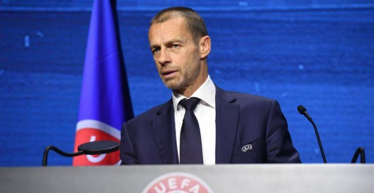 UEFA-preses Ceferin haalt ongenadig hard uit: 'Hij bestaat voor mij niet meer'