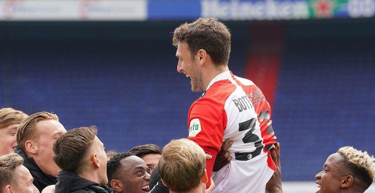 'Ben echt trots dat ik bij Feyenoord mocht spelen, heb hier een mooie tijd gehad'