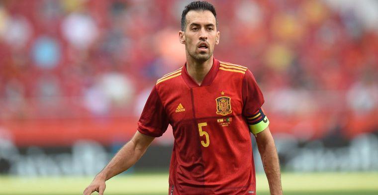 Positieve test voor Busquets: Spanje moet O21-ploeg naar oefenduel sturen