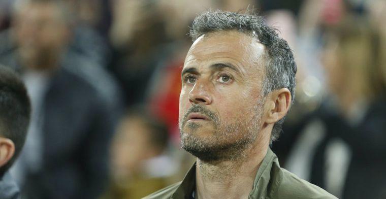 Enrique roept vier nieuwe spelers op na coronabesmetting Busquets