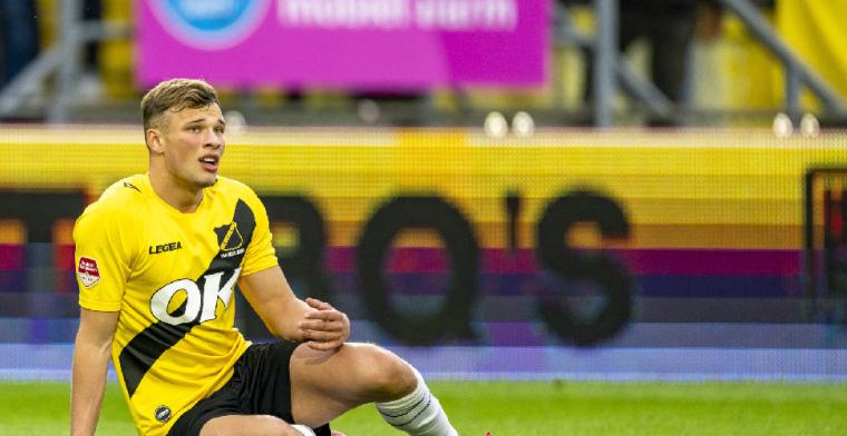 Van Hooijdonk vertrekt bij NAC Breda: Voor mijn carrière het beste
