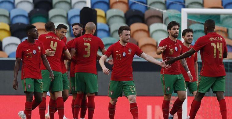 Israël kan Ronaldo en Fernandes niet stoppen: ruime zege Portugal