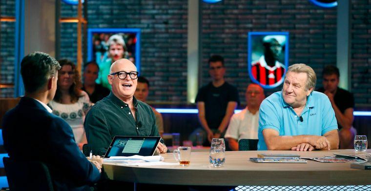 Gijp en Genee dwarsboomden talkshow-plan Derksen: 'Laatste uitdaging, zei hij'