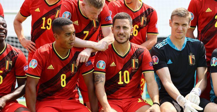 """Geen basisplaats voor Hazard tegen Rusland: """"Zal nooit 100% zijn"""""""