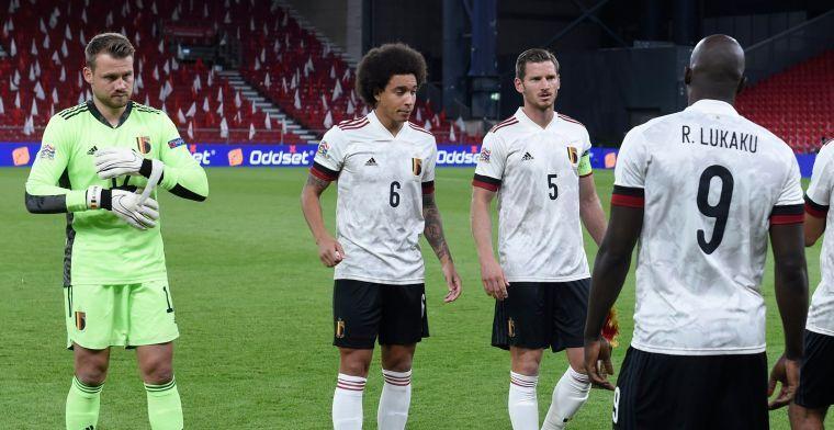 """Maesschalck over blessures: """"Wanneer Witsel en Hazard fit zijn maakt mij niet uit"""""""