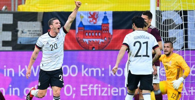 Gosens is de nieuwe machine van Die Mannschaft: 'Hij scheurt bijna uit zijn shirt'