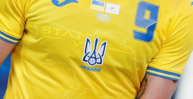 UEFA oordeelt: Oekraïne moet EK-shirt aanpassen voor eerste match